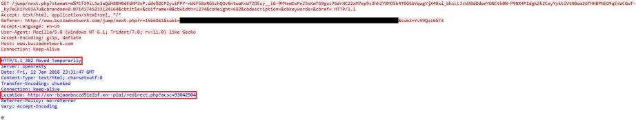 MalwareBreakdown.com - 302 Moved Temporarily edited