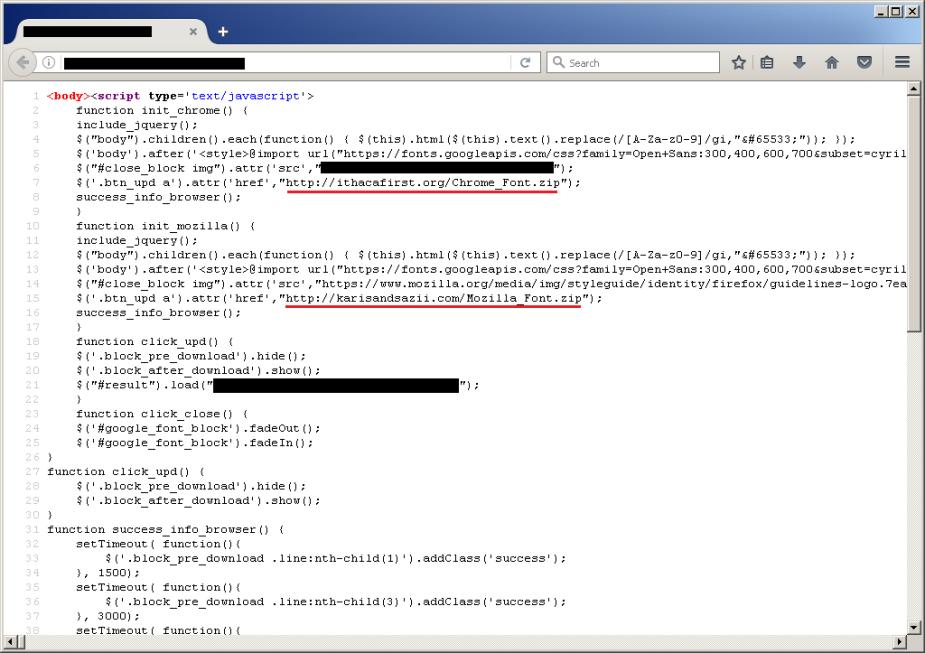 Firefox source EDITED