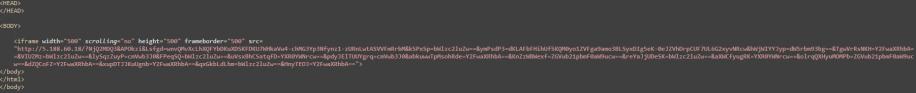 MalwareBreakdown.com - Seamless gate returns iframe to RigEK
