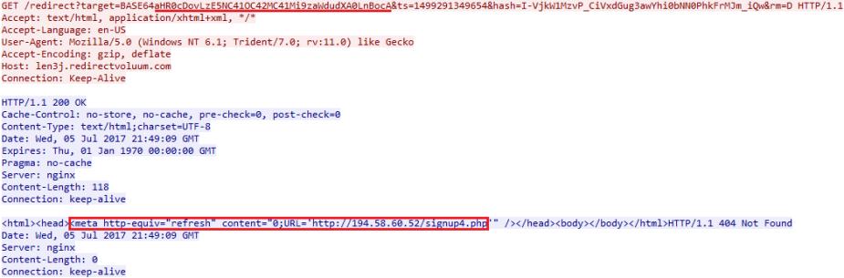 len3j.redirectvoluum.com contains meta refresh for 194.58.60.52 edited