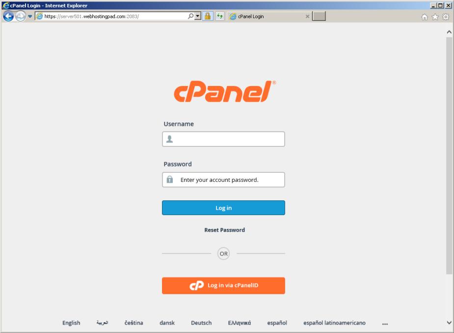 cpanel-server501-webhostingpad-dot-com