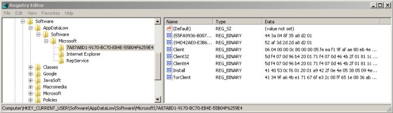 Registry Tor Client