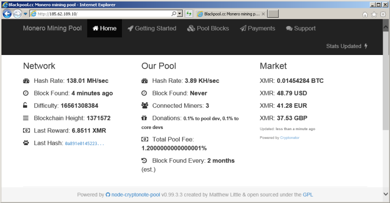 blackpool.cc page