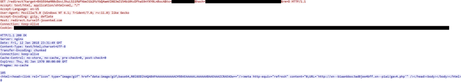MalwareBreakdown.com - Redirect to Seamless gate edited