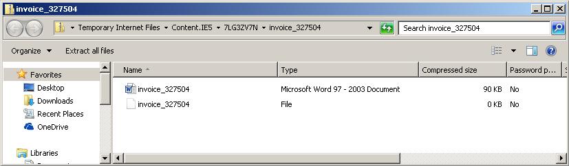 invoice files